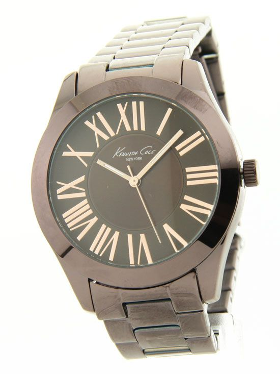 Kenneth Cole KC4899 Watch Ladies Big Stainless Steel Fashion New