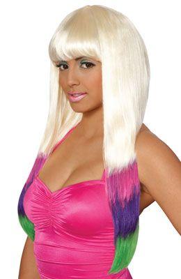 Carnival Nicki Minaj Costume Wig Multi Size Standard