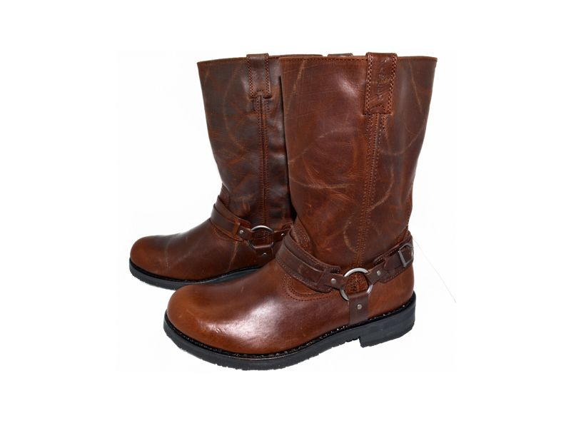 Harley Davidson Lantry Mens Riding Motorcycle Boots D91324 Size 12