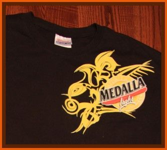 Medalla Light Beer Brewery T Shirt M