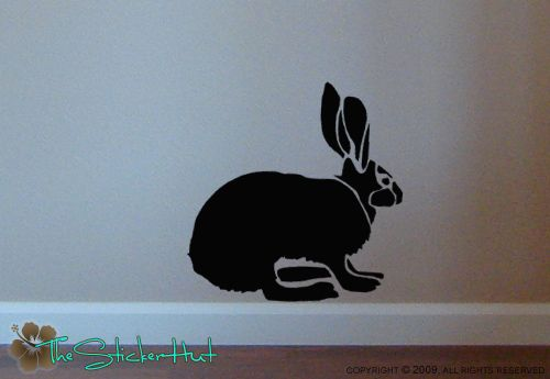 Bunny Rabbit Sticky Vinyl Wall Decals Stickers 503