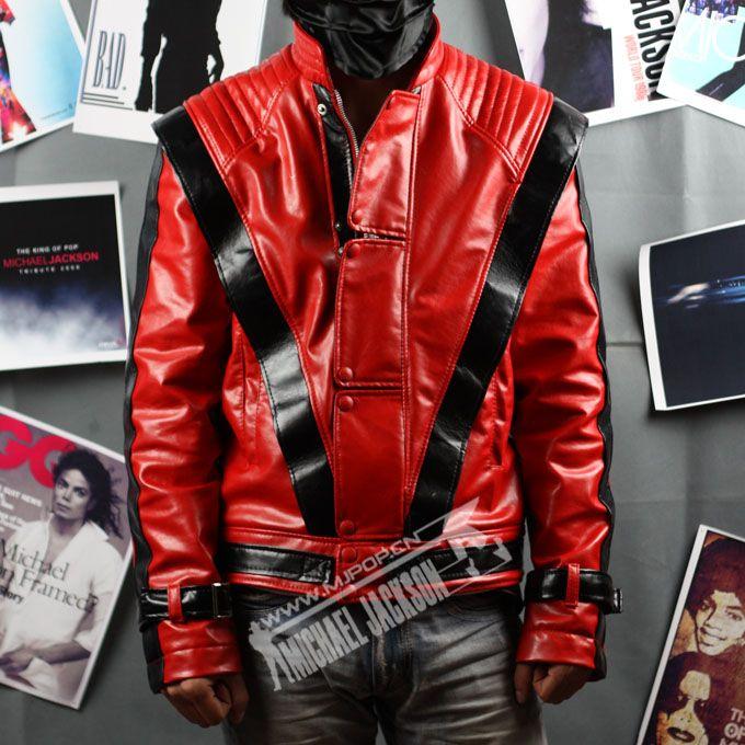 Michael Jackson Thriller Jacket Replica Red