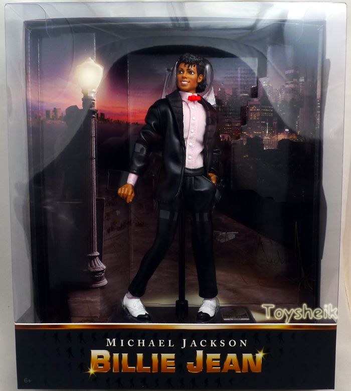 Michael Jackson Billie Jean Doll Playmates 23016