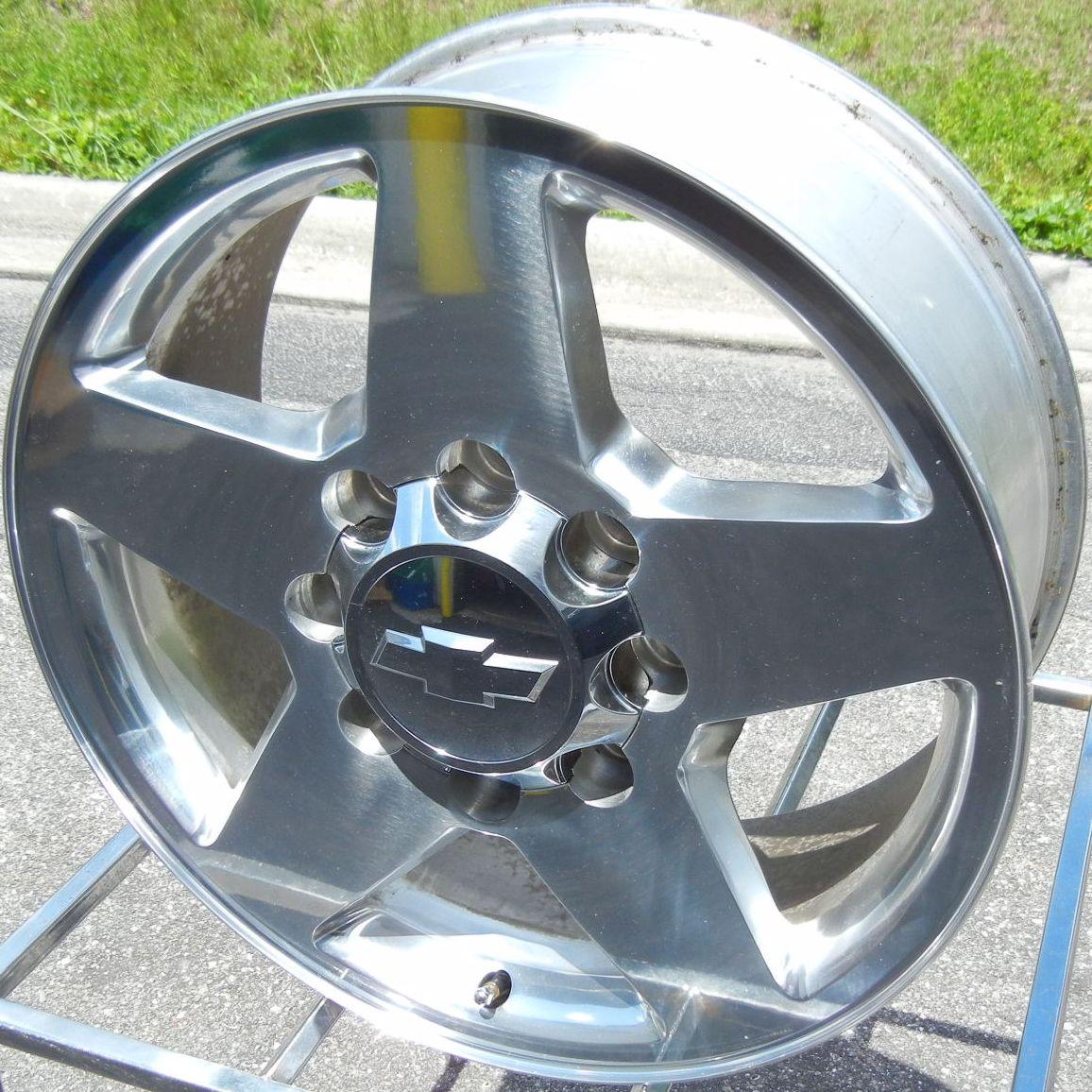 2011 2012 GMC Sierra Chevy Silverado 2500 3500 Polished Wheels Rims