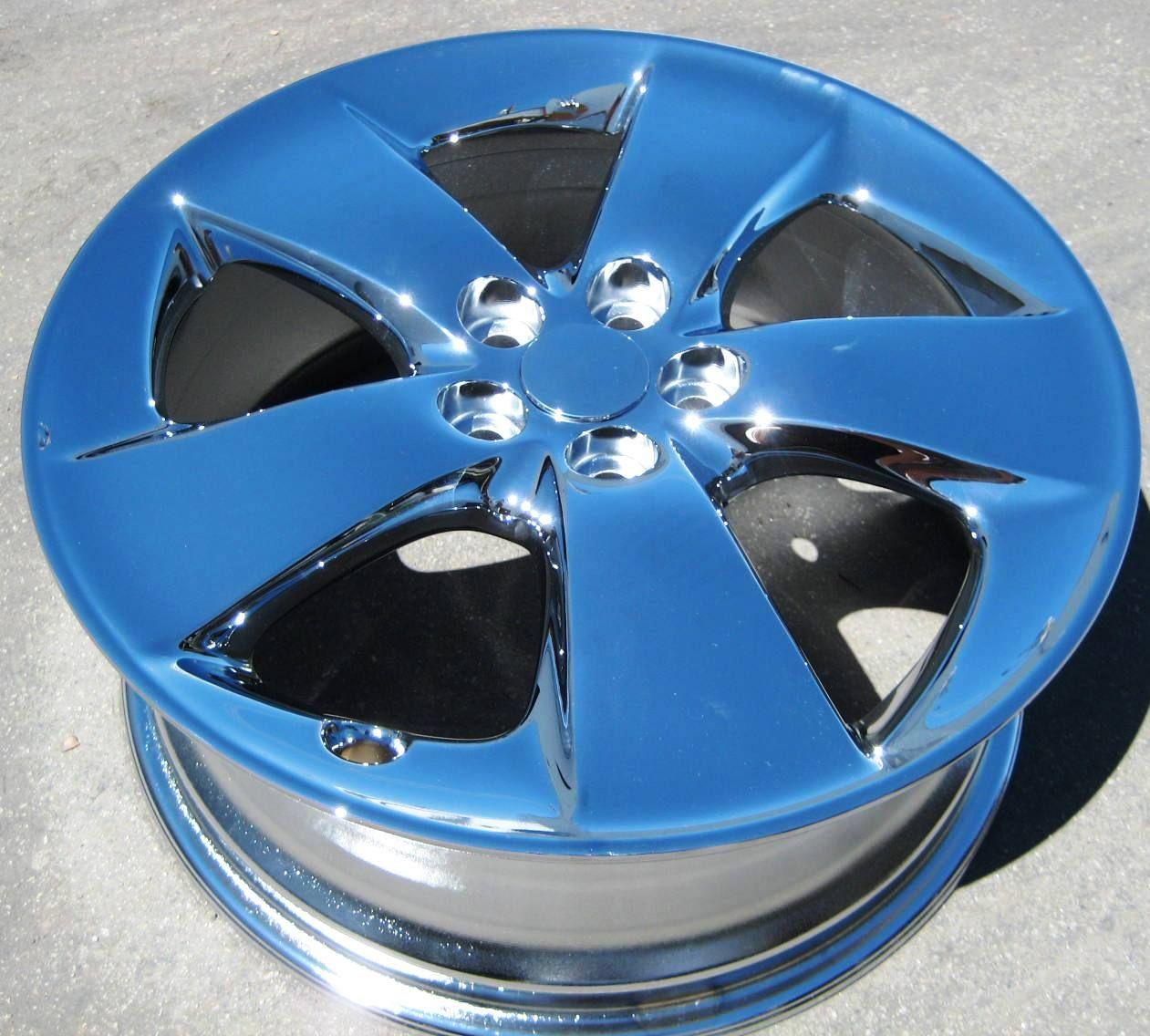 Stock 4 New 17 Factory Toyota Prius Chrome Wheels Rims 2010 12