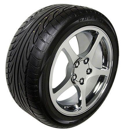 17 18 8 5 9 5 Chrome C5 Wheels Falken Tires Rims Fit Camaro Corvette