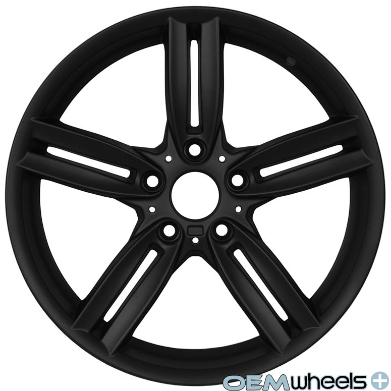 18 Black M Style Wheels Fits BMW 328 328i 328CI M3 E46 E90 E92 E93