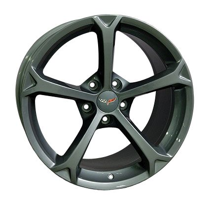 18 19 9 5 12 Gunmetal Corvette Grand Sport Wheels Z06 Rims Fit