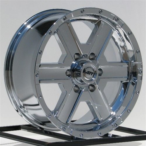 18 inch Chrome Wheels Rims Chevy Silverado 1500 Truck GMC Sierra Tahoe