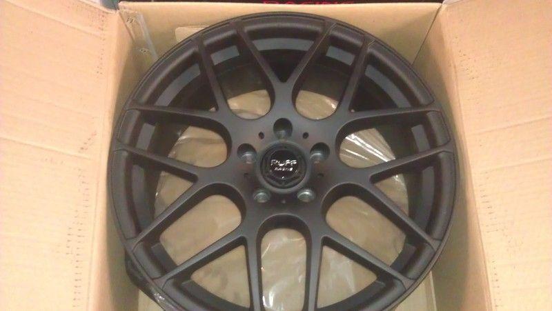 18 Ruff Racing R356 Rims Wheels 5x112 Mercedes Benz Audi VW Crossfire
