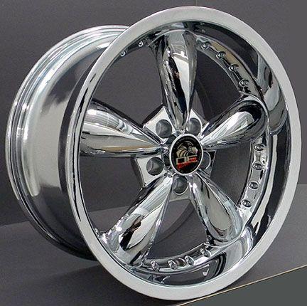 10 Chrome Bullitt Wheels Bullet Rims Fit Mustang® GT 94 04