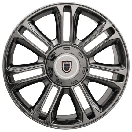 22 Black Chrome Escalade Wheels Rims Fit Cadillac GMC Chevy Set 0f 4