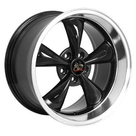 10 Black Bullitt Wheels Bullet Rims Fit Mustang® GT 94 05