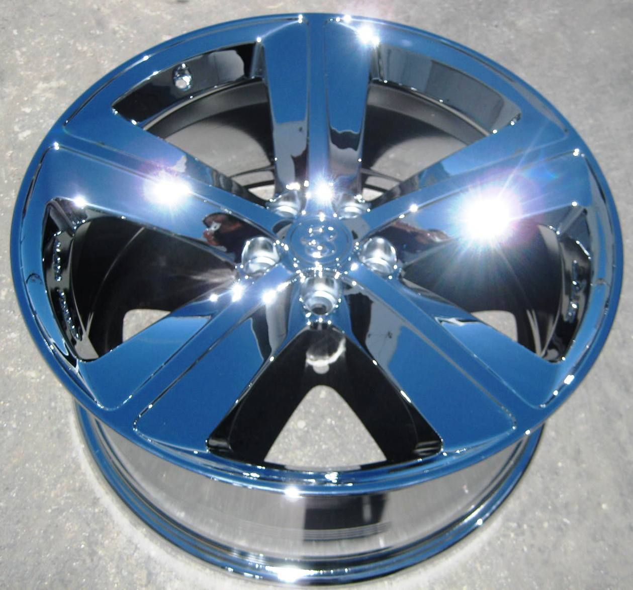 FACTORY DODGE CHALLENGER CHARGER SRT8 CHROME WHEELS RIMS EXCHANGE OEM