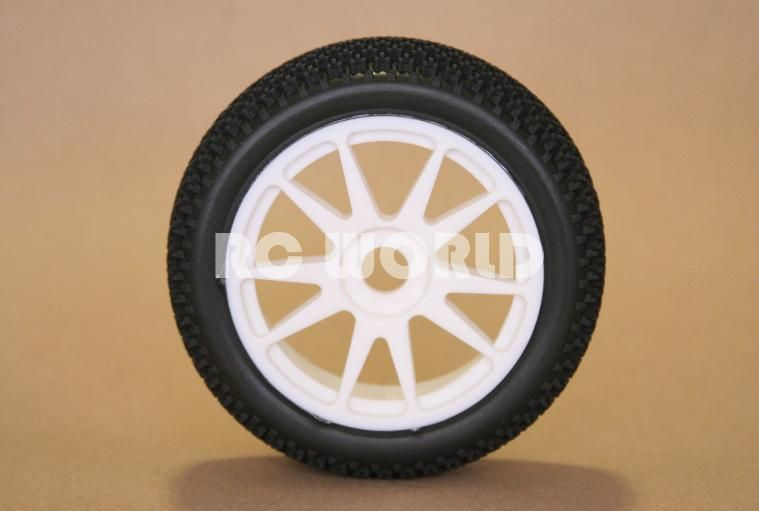 RC 1 8 Car Buggy Truck Tires Wheels Rims Package Nipple