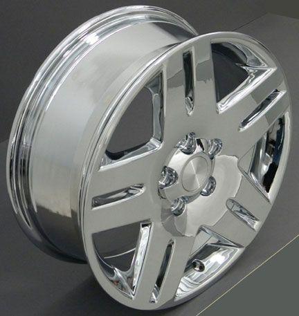 17 Impala Wheel Chrome 17x6 5 Rims Fit Chevy