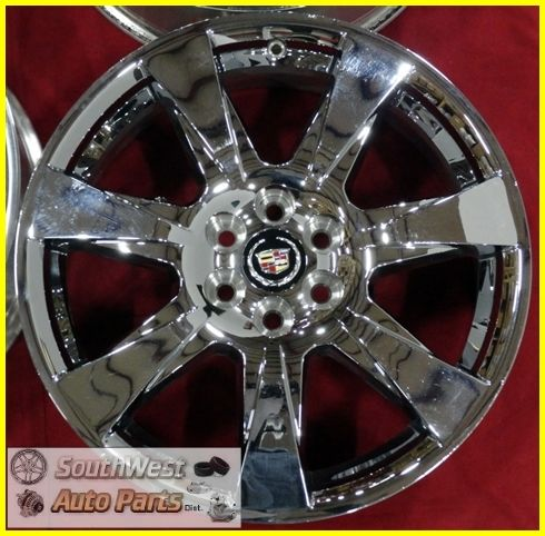 SRX 20 6x120mm Chrome Clad Wheels Used Factory Set Rims 4666