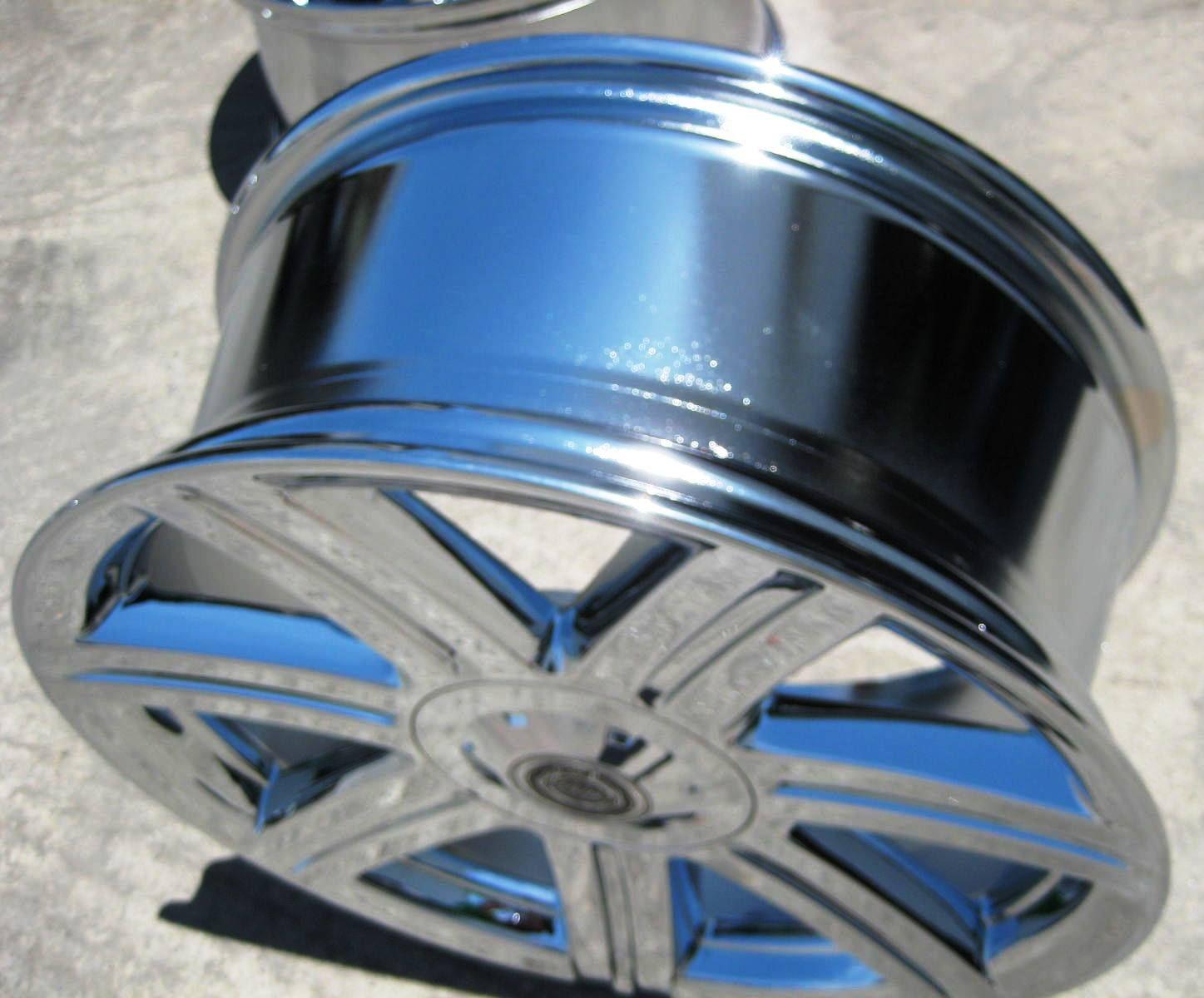 18 19 Chrysler Crossfire Factory Chrome Wheels Rims 2229 2230