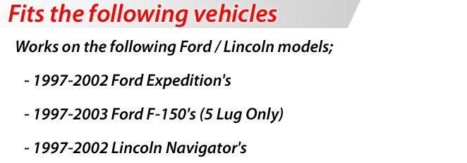 KMC Vandal 668 20 Black Rims Wheels Ford Expedition 97 02 20 x 9 0 5H