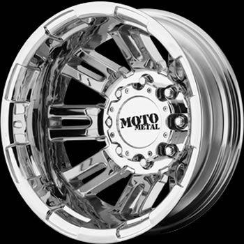 Moto Metal MO963 Dually Rear Wheels 8x170 134 Ford F 350 Dually
