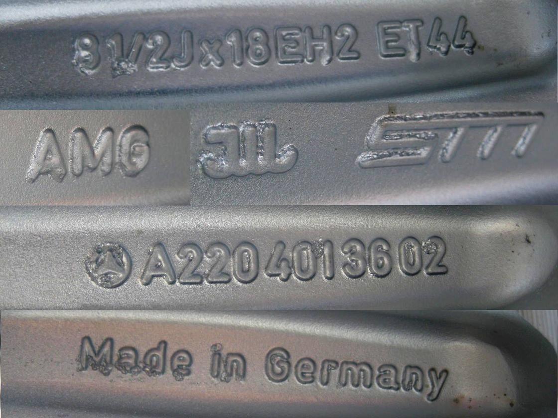 18 FACTORY MERCEDES S600 S500 S430 CL500 CL600 AMG CHROME WHEELS RIMS
