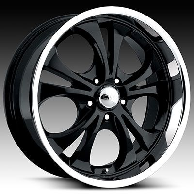 20 x8 5 Boss 304 3045 Black Chrome Wheels Rim 5 6 8 Lug