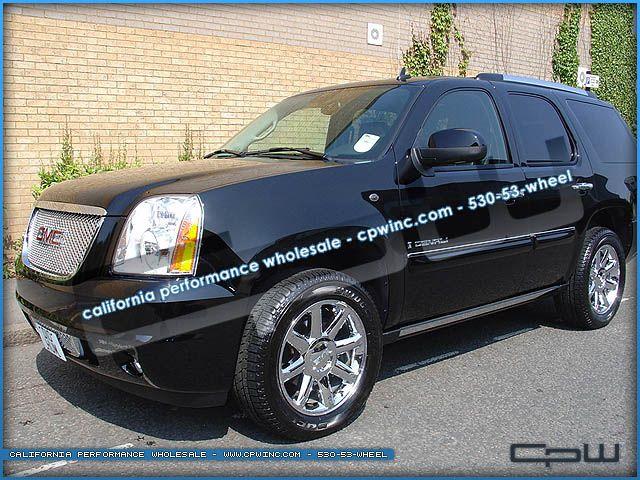 Yukon Denali Tahoe Chrome Wheels Rims 20s New Cadillac Escalade