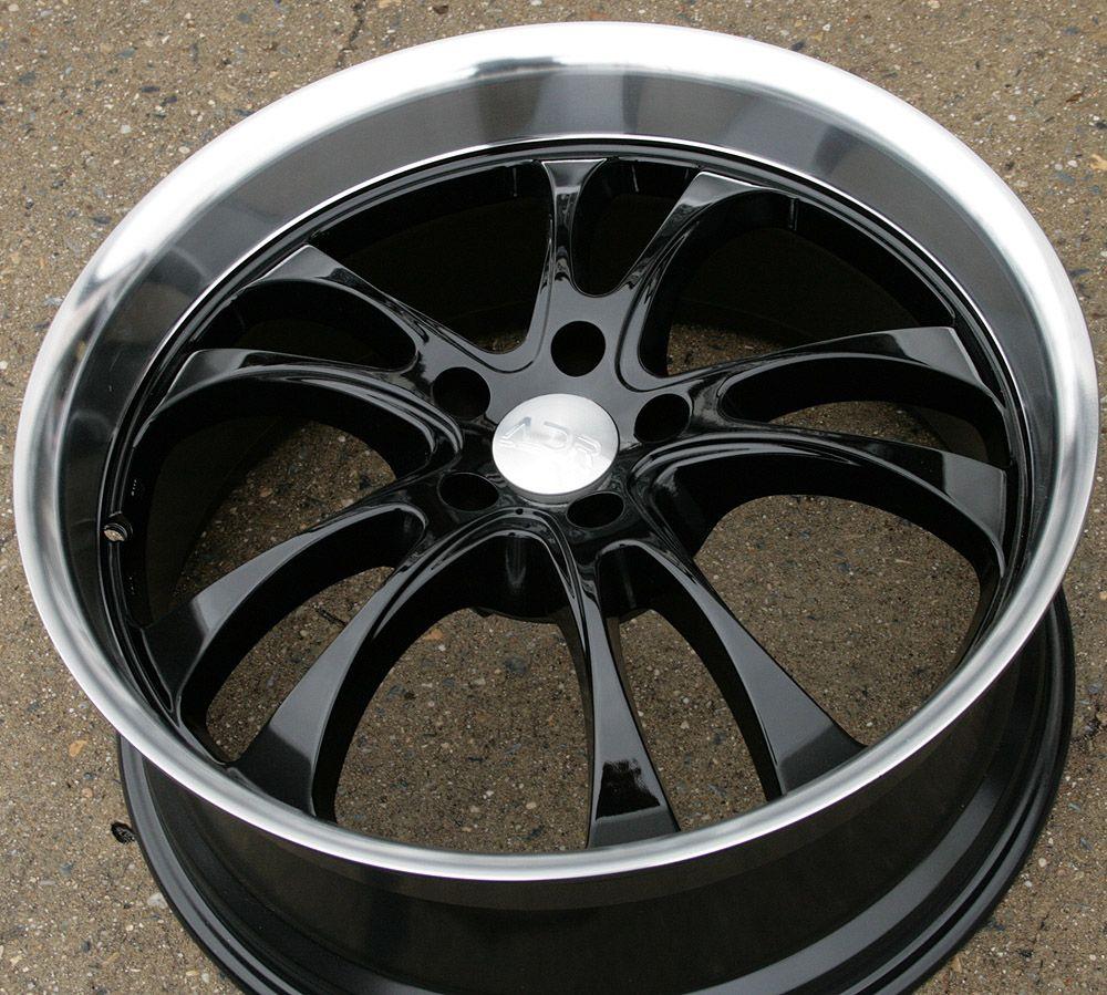 Adr Sterling 20 Black Rims Wheels Crown Victoria 93 02 20 x 8 5 5H 20