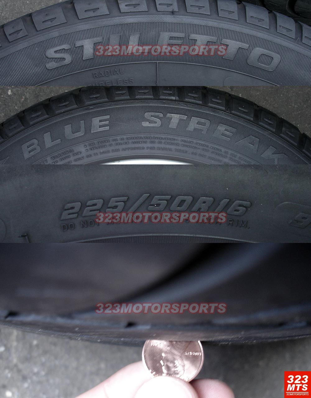 16 inch Used BMW 323 325 328 330 Wheels Rims Tires