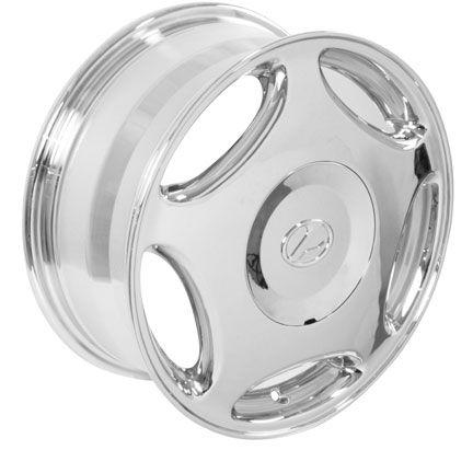 16 Chrome LS Style Wheels Set Rims Fit Lexus