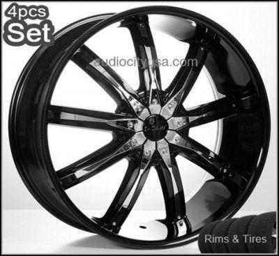 22 5 or 6LUG Wheels and Tires Escalade Chevy Rims H3 Silverado Yukon