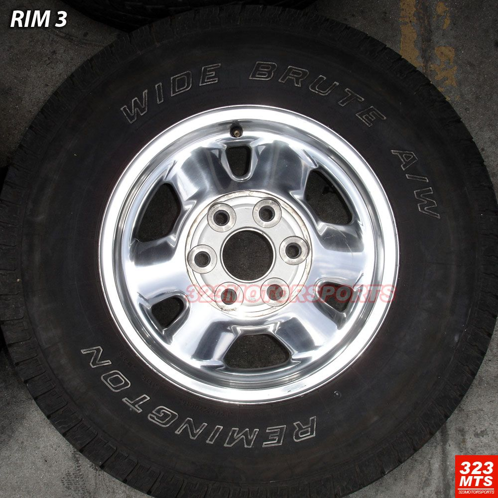 16 Used GMC Yukon Sierra GMC Wheels Rims Tires