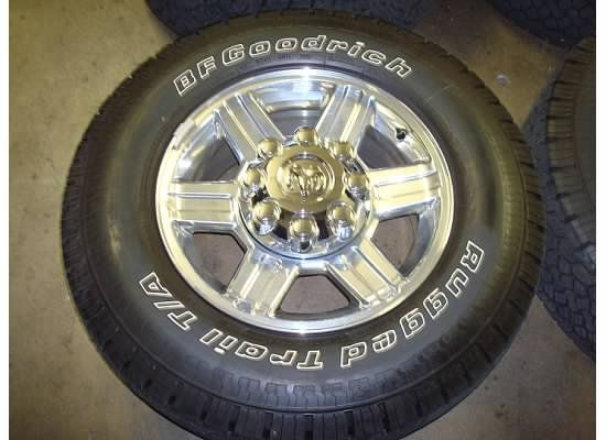 17 Dodge RAM 2500 3500 Wheels Rims Laramie 09 11 10 Tires Polished