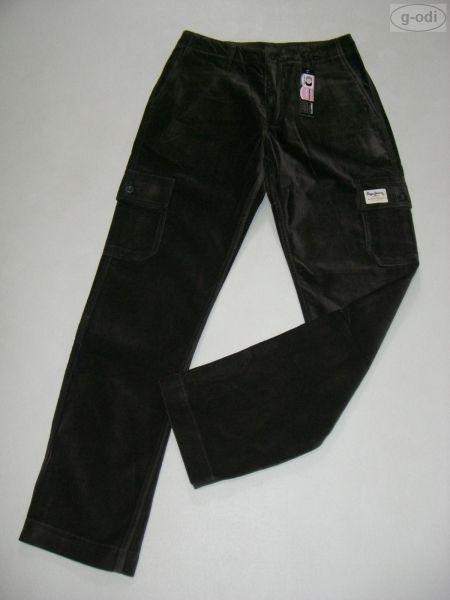 Pepe Jeans London Cargo Hose Cargohose 28/ 32 Samt NEU