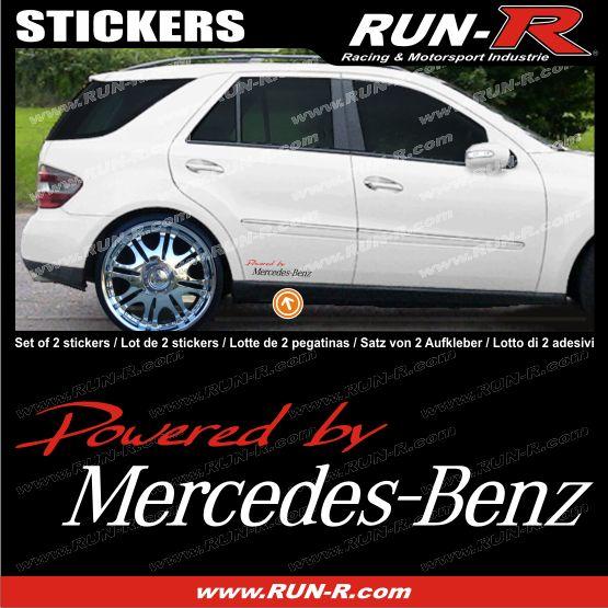Mercedes Benz sticker decal   AMG BRABUS SLK CLK Mercedes aufkleber