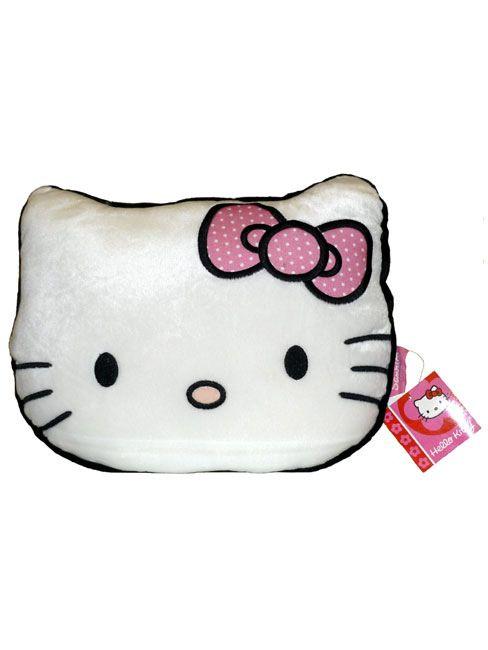 Sanrio Hello Kitty Kissen / Plüschkissen Hello Kitty Kopfform