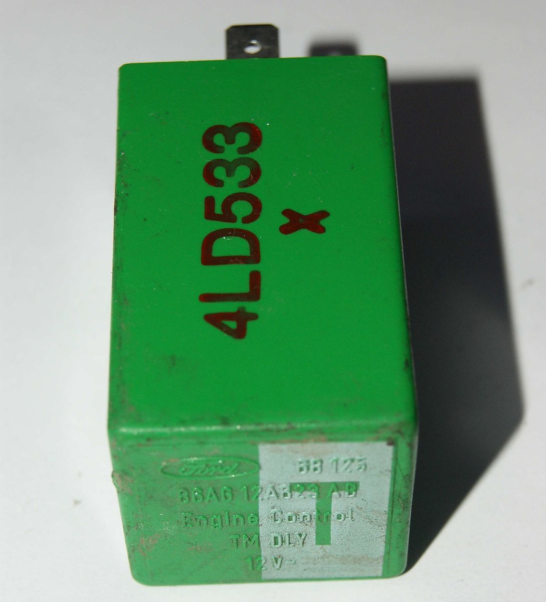 Relais Relay 12V FORD 86AG 12A623 AB Engine Control TM DLY