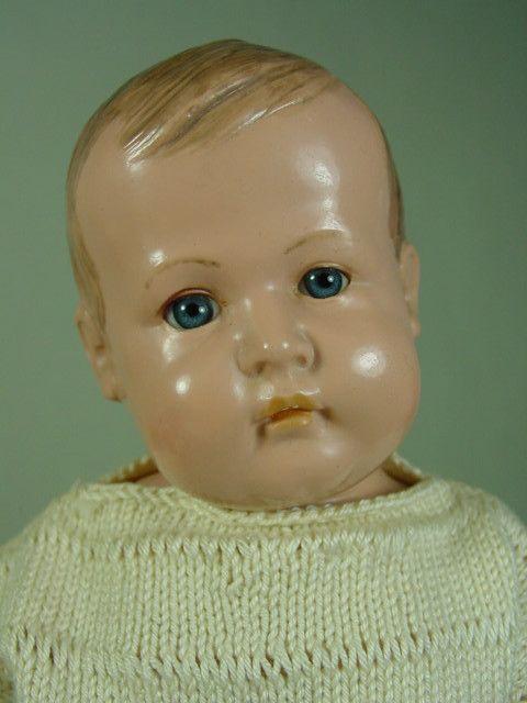 P426/ Igodi Charakter Celluloid Puppe Dr.Paul Hunaeus 1925 Rarität 30