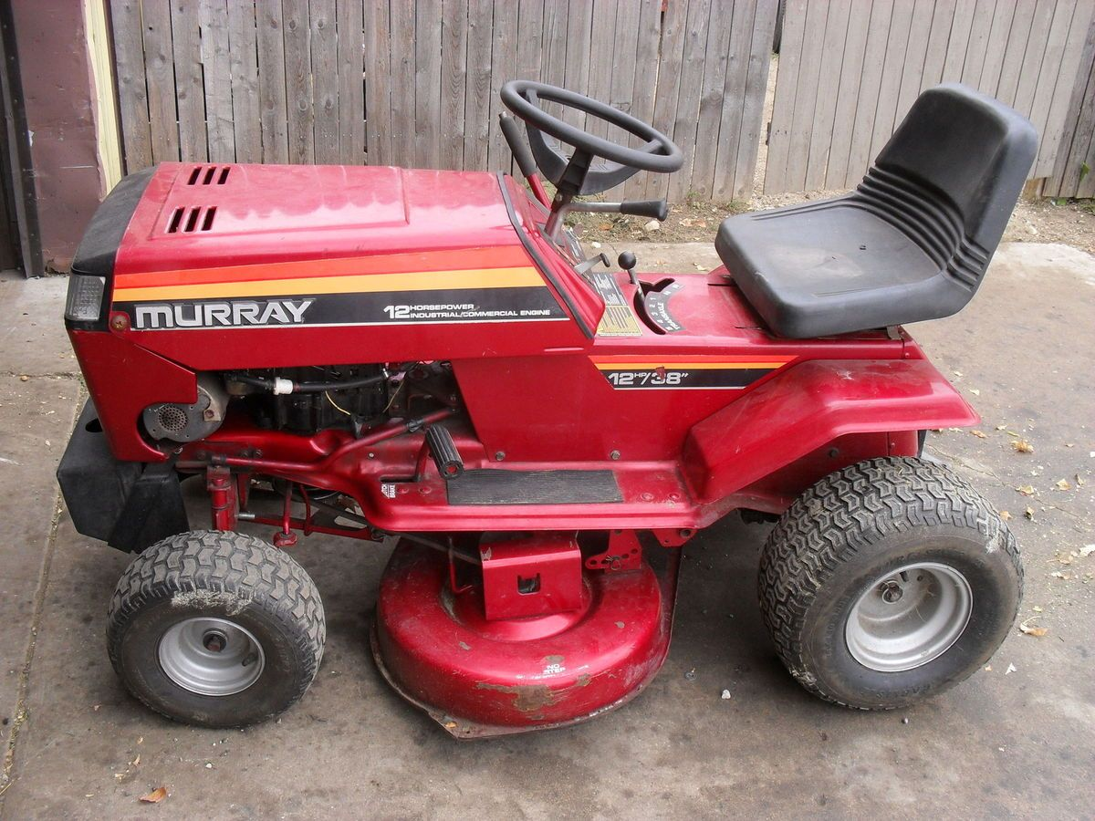 Murray Lawn Tractor 12 Horse Briggs 38 Inch Cut Good Working Unit 38quot Page 5 Diagram And Parts List For Mtd Ridingmower